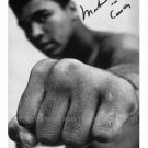 "MUHAMMAD ALI THE GREATEST BOXER AUTOGRAPHED RPT PHOTO 8""x10"" CASSIUS CLAY FIST"