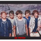 ONE DIRECTION HARRY STYLES ZAYN LOUIS NIALL & LIAM AUTOGRAPHED 8x10 RPT PHOTO 1D
