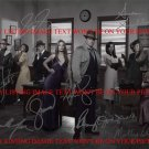 CASTLE TV SHOW CAST SIGNED AUTOGRAPHED 8x10 RP PHOTO ALL 8 STANA KATIC NATHAN FILLION +