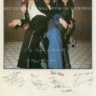 QUEEN GROUP AUTOGRAPHED 6x9 RP PHOTO ALL 4 MAY DEACON TAYLOR AND FREDDIE MERCURY
