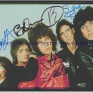 THE CARS GROUP SIGNED AUTOGRAPHED 8x10 RP PHOTO LET THE GOOD TIMES ROLL