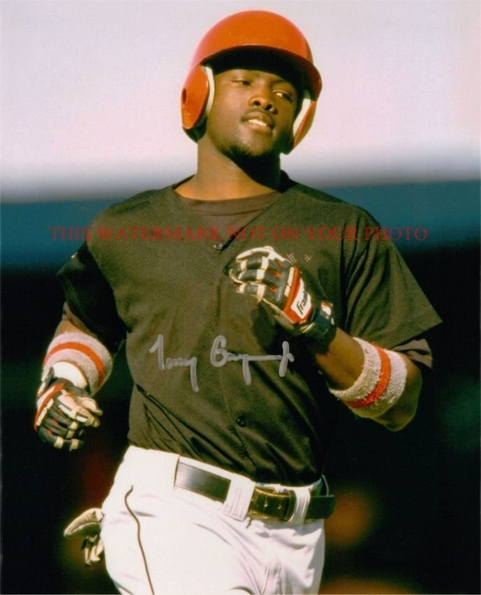 TONY GWYNN SIGNED AUTOGRAPHED AUTO 8x10 RP PHOTO GREAT PLAYER