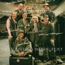 MASH CAST 7 AUTOGRAPHED 8x10 RP PHOTO SWIT ALDA FARR CHRISTOPHER MORGAN FARRELL