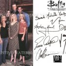 BUFFY THE VAMPIRE SLAYER AUTOGRAPHED 6x9 RP PHOTO ALL 8 SARAH MICHELLE GELLAR