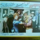 GUNSMOKE FULL CAST SIGNED AUTOGRAPHED 8X10 FRAMED RP PHOTO JAMES ARNESS FESTUS KITTY