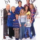 EVERYBODY LOVES RAYMOND FULL CAST AUTOGRAPHED 8x10 RP PHOTO BY ALL