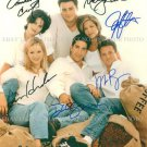 FRIENDS FULL CAST SIGNED AUTOGRAPHED 8x10 RP PHOTO ANISTON COX PERRY LEBLANC KUDROW