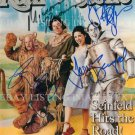 SEINFELD FULL CAST AUTOGRAPHED 8x10 RP PHOTO JERRY  WIZARD OF OZ COSTUMES