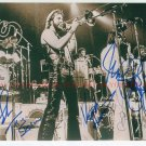 CHICAGO BAND AUTOGRAPHED 8x10 RP PHOTO CLASSIC ROCK ALL 5 PANKOW SCHEFF