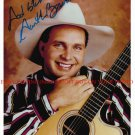 GARTH BROOKS AUTOGRAPHED 8x10 RP PUBLICITY PHOTO GREAT COUNTRY MUSIC