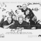 FRASIER FULL CAST AUTOGRAPHED 8x10 RP PHOTO BY 6 KELSEY GRAMMER