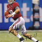 AJ MCCARRON AUTO AUTOGRAPHED 8x10 RP PHOTO GREAT QB A.J.