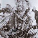 WILLIE NELSON AUTOGRAPHED 8x10 RP PHOTO GREAT COUNTRY LEGEND