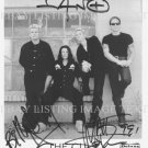 THE CULT BAND AUTOGRAPHED 8x10 RP PHOTO IAN ASTBURY