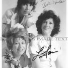ALICE CAST AUTOGRAPHED 8x10 RP PHOTO POLLY HOLIDAY LINDA LAVIN BETH HOWLAND