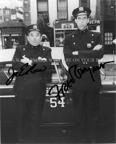 Car 54 Where Are You Cast Signed Autographed 8x10 Rpt Photo Fred
