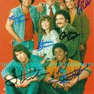 WELCOME BACK KOTTER CAST AUTOGRAPHED 8x10 RP PHOTO TRAVOLTA MARCIA STRASSMAN
