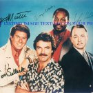 MAGNUM PI CAST AUTOGRAPHED 8x10 RP PHOTO BY ALL 4 TOM SELLECK P I HIGGINS TC