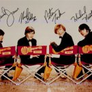THE MONKEES AUTOGRAPHED SIGNED 8x10 RP PROMO PHOTO ALL 4 DAVY JONES TORK DOLENZ NESMITH