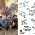 THE DUKES OF HAZZARD FULL CAST AUTOGRAPHED 6x9 RP PROMO PHOTO HAZARD