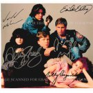 THE BREAKFAST CLUB CAST SIGNED AUTOGRAPHED RP PHOTO ALL 5 ESTEVEZ NELSON BRAT PACK