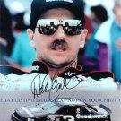 DALE EARNHARDT SR AUTOGRAPHED 8x10 RP PHOTO LEGENDARY DRIVER