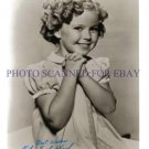 SHIRLEY TEMPLE BLACK AUTOGRAPHED 8x10 RP PHOTO VERY CUTE YOUNG