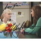 MOM CAST AUTOGRAPHED 8x10 RP PHOTO ALLISON JANNEY AND ANNA FARIS GREAT COMEDY