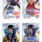 TOM WALLISCH AUTO 2014 TOPPS OLYMPICS PARALYMPIC AUTOGRAPH CARDS + BASE CARD
