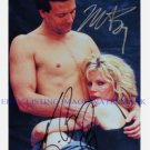 9 1/2 WEEKS CAST AUTOGRAPHED 8x10 RP PHOTO MICKEY ROURKE KIM BASINGER NINE HALF