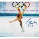 TANYA HARDING HAND AUTOGRAPHED 8x10 PHOTO OLYMPICS ICE SKATING