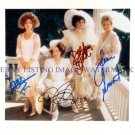 DESIGNING WOMEN CAST SIGNED AUTOGRAPHED 8x10 RP PHOTO ALL 4 DIXIE CARTER +