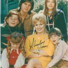 THE PARTRIDGE FAMILY CAST SIGNED AUTOGRAPHED 8x10 RP PHOTO BY 4 DAVID CASSIDY COME ON GET HAPPY