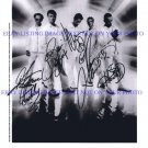 THE BACKSTREET BOYS AUTOGRAPHED 8x10 STUDIO RP PROMO PHOTO