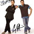 COREY HAIM AND COREY FELDMAN SIGNED AUTOGRAPHED 8x10 RP PHOTO