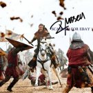 """RUSSELL CROWE AUTOGRAPHED 8""""x10"""" RP PHOTO ROBIN HOOD"""