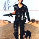 MEL GIBSON AUTOGRAPHED 8x10 RP PHOTO MAD MAX with DOG