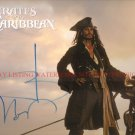 JOHNNY DEPP AUTOGRAPHED 8x10 RP PHOTO CAPTAIN JACK SPARROW PIRATES
