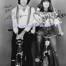 MORK AND MINDY CAST AUTOGRAPHED 8x10 RP PHOTO ROBIN WILLIAMS AND PAM DAWBER
