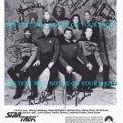 STAR TREK TNG CAST SIGNED AUTOGRAPHED RP PHOTO PATRICK STEWART WHOOPI WIL WHEATON DORN BURTON