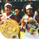 VENUS AND SERENA WILLIAMS AUTOGRAPHED 8x10 RP PHOTO TENNIS CHAMPIONS
