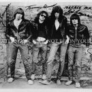 THE RAMONES AUTOGRAPHED 6x9 RP PROMO PHOTO LEGENDARY CLASSIC YOUNG
