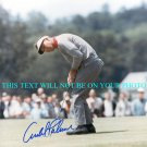 ARNOLD PALMER SIGNED AUTOGRAPHED RP PHOTO GOLF LEGEND