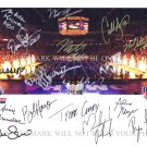 USA OLYMPICS SWIM TEAM AUTOGRAPH SIGNED RP PHOTO BY 18 MICHAEL PHELPS REBECCA SONI MISSY FRANKLIN