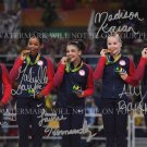 TEAM USA GYMNASTICS SIMONE BILES GABBY DOUGLAS ALY RAISMAN HERNANDEZ MADISON KOCIAN SIGNED PHOTO