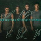 TWILIGHT ECLIPSE WOLF PACK SIGNED RP PHOTO TAYLOR LAUTNER KIOWA