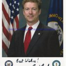 RAND PAUL SIGNED AUTOGRAPHED 8x10 RP PHOTO SENATE POSSIBLE PRESIDENTIAL CANDIDATE