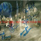 ONCE UPON A TIME CAST SIGNED AUTOGRAPHED 8x10 RP PHOTO JARED GILMORE JOSH DALLAS LANA PARRILLA +