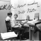BILL GATES AND PAUL ALLEN SIGNED AUTOGRAPH 8x10 RP PHOTO LEGENDARY GENIUSES