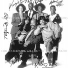 THE FRESH PRINCE OF BEL-AIR CAST SIGNED AUTOGRAPH 8x10 RP PHOTO BELL AIRE WILL SMITH DJ JAZZY JEFF
